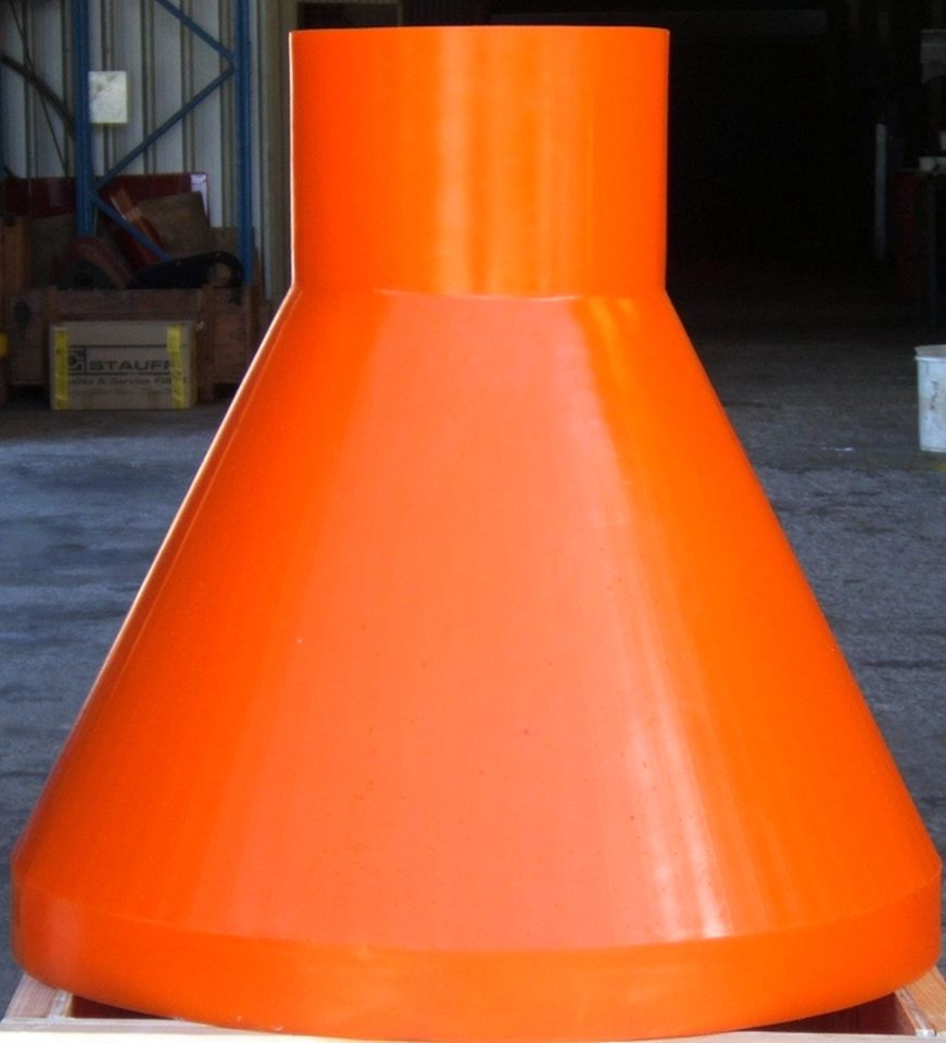Polyurethane Mouldings Conical Liner