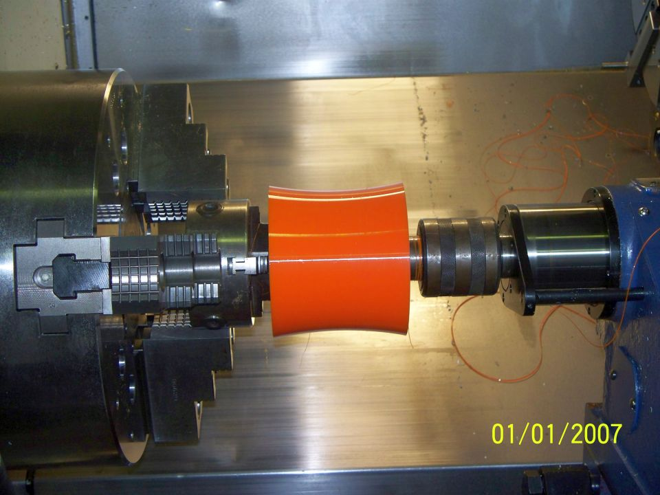 Engineering Concave Curved Roller