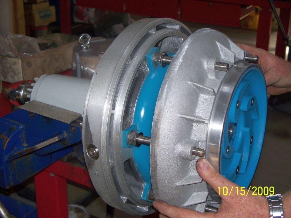 Pumps and Spares 8kw Pump Assembly