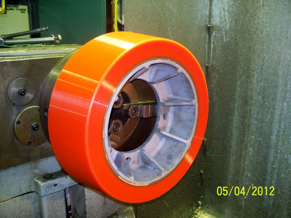 Mining and Mineral Processing - Thrust Wheel